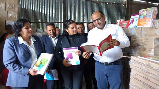 Minedu entregará 53 millones de materiales educativos este año