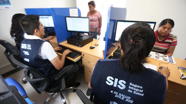 Trabajadores independientes y estudiantes pueden afiliarse al SIS Semicontributivo