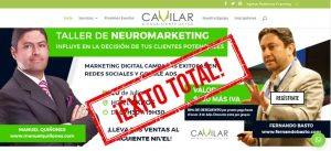 Cavilar realizó con éxito el seminario de neuromarketing y marketing digital con conferencistas internacionales