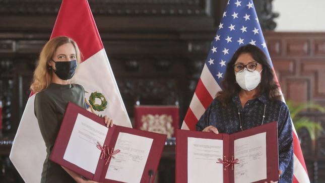 Gobiernos de Perú y EE.UU. acuerdan trabajar juntos por la modernización del sector forestal peruano